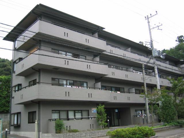 物件番号: 1075902819 緑の森  京都市左京区上高野八幡町 2LDK マンション 外観画像