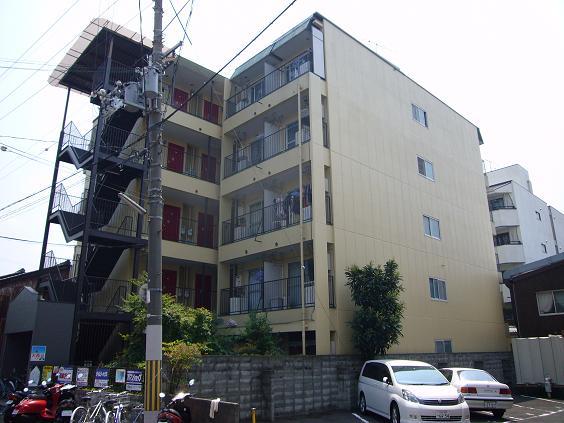 物件番号: 1075913210 ロイヤルコーポタカハラ  京都市左京区田中西高原町 1K マンション 外観画像