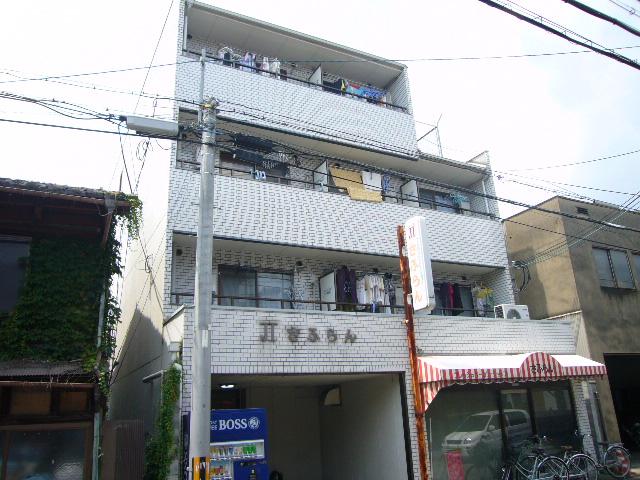 物件番号: 1075910976 JTサフラン  京都市左京区高野清水町 1K マンション 外観画像