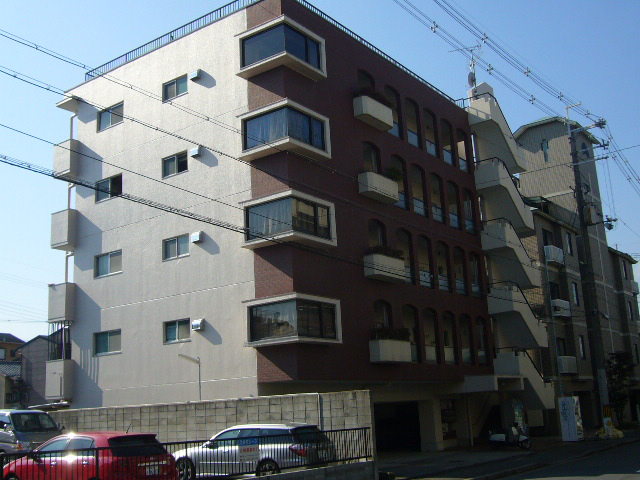 物件番号: 1075914637 第1くめマンション  京都市左京区高野清水町 2SDK マンション 外観画像