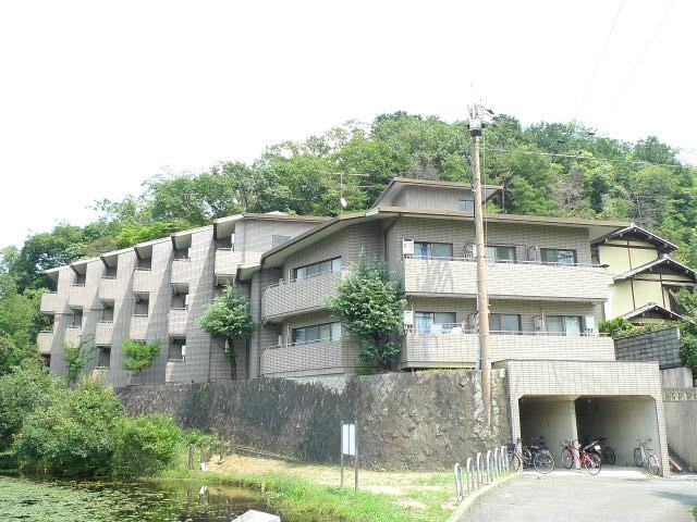 物件番号: 1075921408 メゾンジョアⅠ  京都市左京区松ヶ崎西山 1K マンション 外観画像