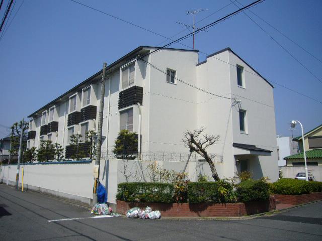 物件番号: 1075917542 メゾン奥山  京都市左京区北白川平井町 1K マンション 外観画像