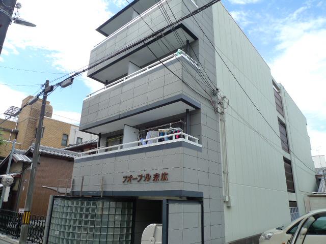 物件番号: 1075915582 フォーブル末広  京都市上京区末広町 1K マンション 外観画像