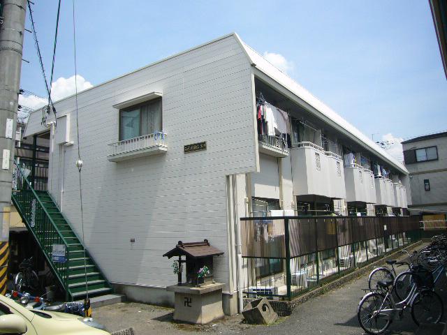 物件番号: 1075917388 スッデンテンハイムゾンネ  京都市左京区高野清水町 1K ハイツ 外観画像