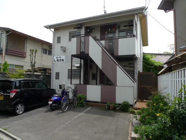 物件番号: 1075920425 カーサしもがも  京都市左京区下鴨蓼倉町 1K ハイツ 外観画像