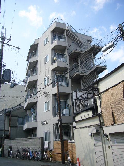 物件番号: 1075904413 コーポイケオ  京都市左京区下鴨西本町 1K マンション 外観画像