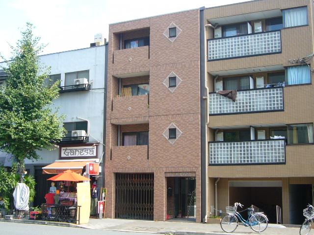 物件番号: 1075921487 トーセイあをき  京都市左京区聖護院西町 1K マンション 外観画像