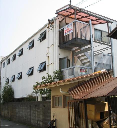 物件番号: 1075902852 メゾン洛苑  京都市左京区高野清水町 1K マンション 外観画像